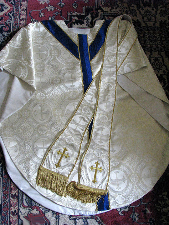 chasuble stoles
