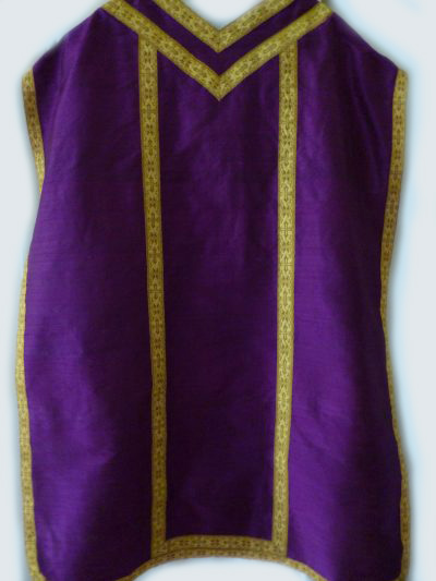Fiddle Back Chasuble